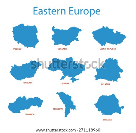 Eastern Europe   Maps Of Territories