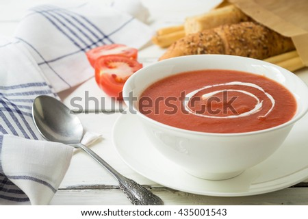 easy and healthy tomato soup