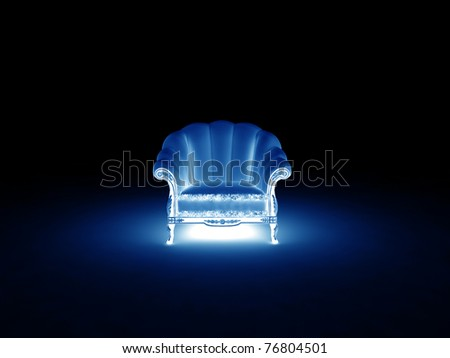 easy chair - stock photo
