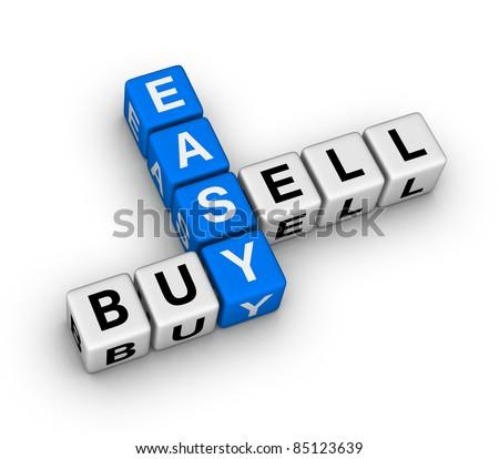 easy trading - stock photo