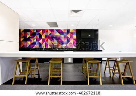 Eating place, kitchen - stock photo
