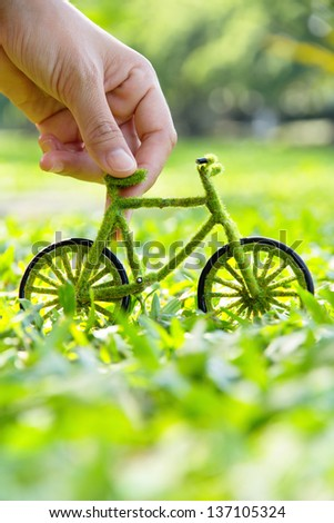 eco bicycle concept