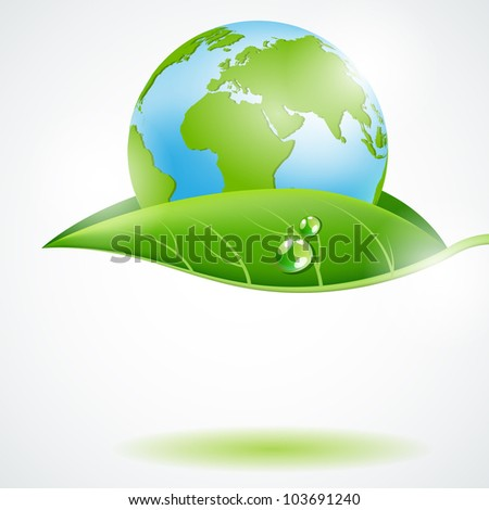 Eco concept design - stock photo