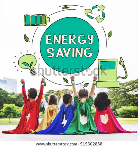 Eco Energy Saving Environmental Conservation Ecology Concept