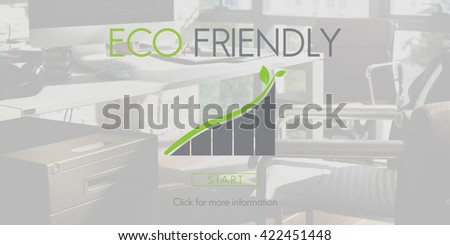 Eco Friendly Green Environment Ecology Concept - stock photo