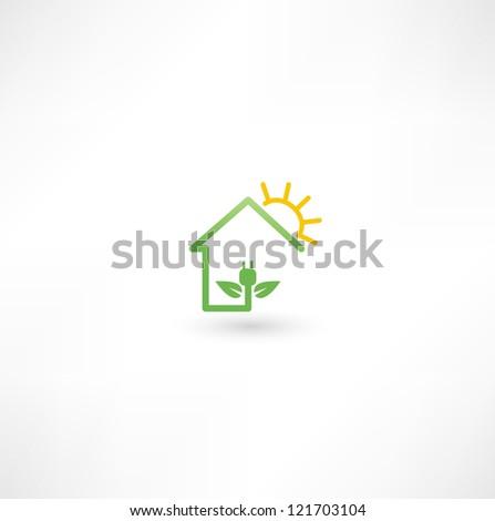 Eco green energy - stock photo
