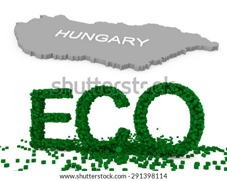 eco hungary - stock photo