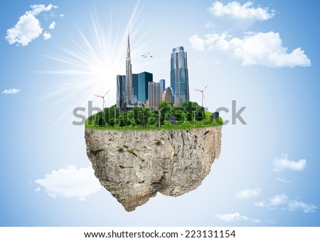 Eco planet, earth, globe, environmental - stock photo