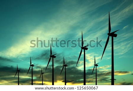 Eco power windturbines