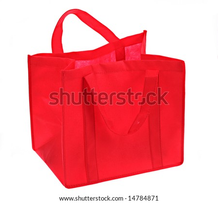 Ecological bag - stock photo