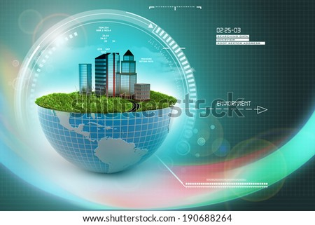 Ecology concept - stock photo