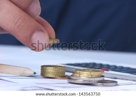 economic - stock photo