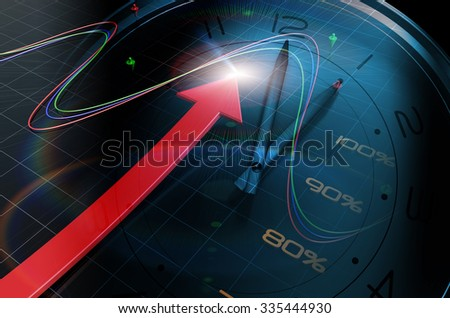 Economic growth - stock photo