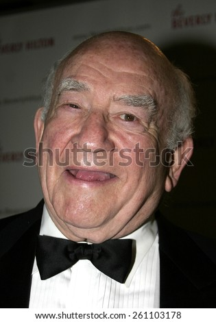 Ed Asner at the 55th Annual Ace Eddie Awards held at the Beverly Hilton Hotel in Beverly Hills, California United States on February 20, 2005.