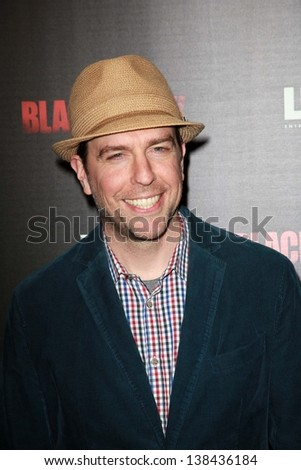 "Ed Helms at the ""Black Rock"" Los Angeles Special Screening, Arclight, Hollywood, CA 05-08-13"