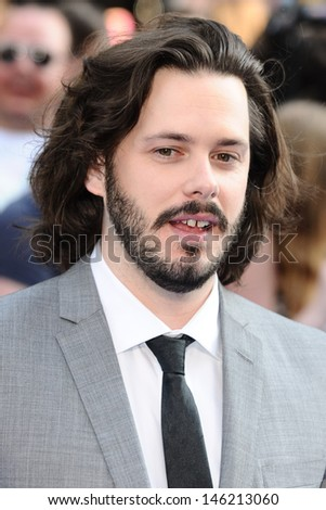 "Edgar Wright arrives for the world premiere of ""The World's End"" at the Empire, Leicester Square, London. 10/07/2013"