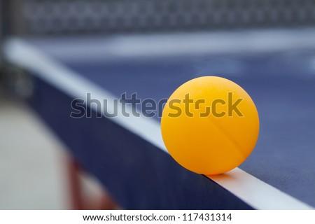Edge ball - stock photo