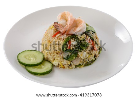 Edge-out Food ( Melayu Fried Rice )