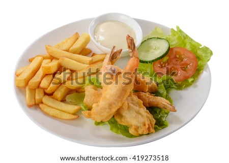 Edge-out Food ( Shrimps Plate )