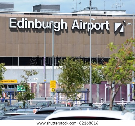 EDINBURGH - JUNE 29: the exterior of Edinburgh Airport on June 29, 2011 in Edinburgh, Scotland. On June 28th passengers were stuck on planes for hours at the Airport due to a security alert.