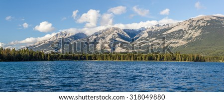 Edith Lake, Jasper National Park, Jasper, Alberta, Canada.