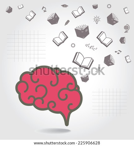 Education abstract conceptual background.  - stock photo