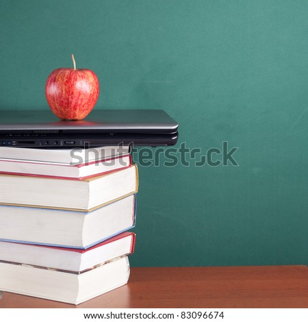 Education and technology - stock photo