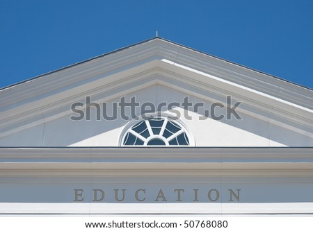 Education as Path for a Successful Life - stock photo