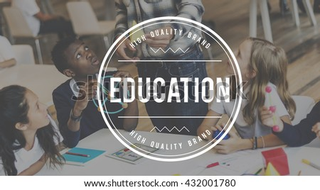 Education College Ideas Insight Intelligence Concept - stock photo