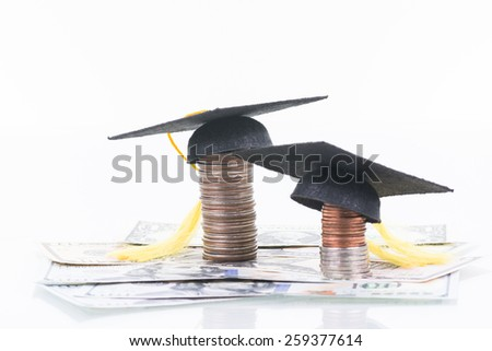Education funds  - stock photo