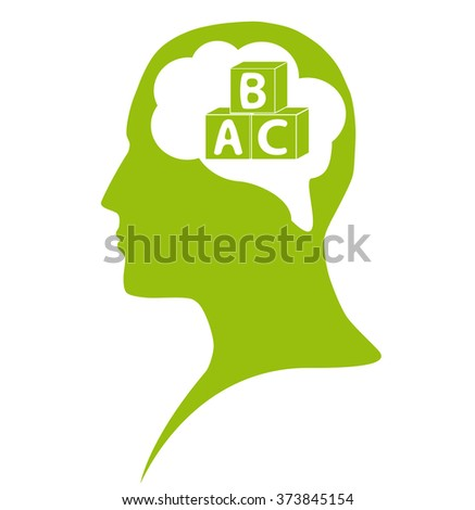 Education in mind - stock photo