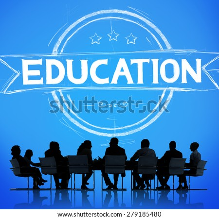 Education Knowledge learning School Studying Concept - stock photo