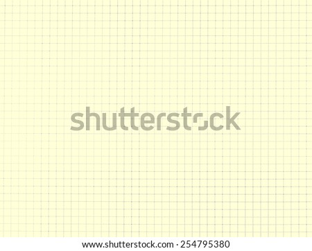 Education notebook grid texture background - cream style - stock photo