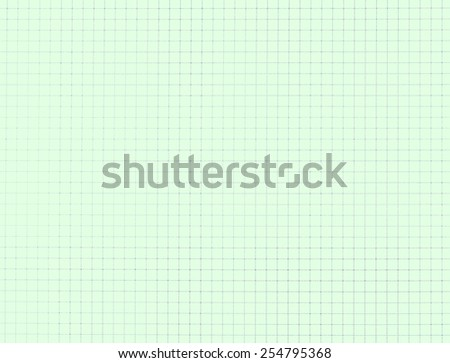 Education notebook grid texture background - green style - stock photo