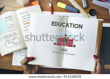 Education University School Study Learn Concept - stock photo