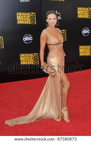 Edyta Sliwinska at the 2009 American Music Awards at the Nokia Theatre L.A. Live. November 22, 2009  Los Angeles, CA Picture: Paul Smith / Featureflash