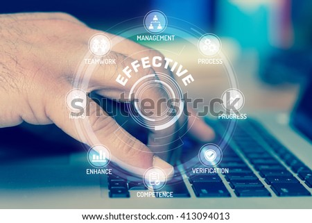 EFFECTIVE TECHNOLOGY COMMUNICATION TOUCHSCREEN FUTURISTIC CONCEPT