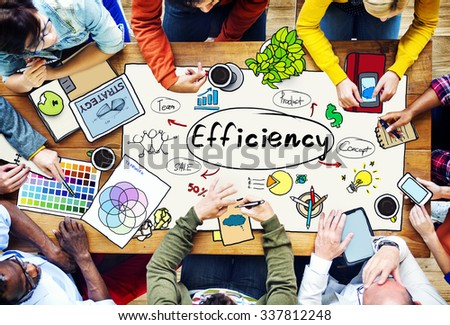 Efficiency Ability Quality Skill Expert Excellence Concept - stock photo