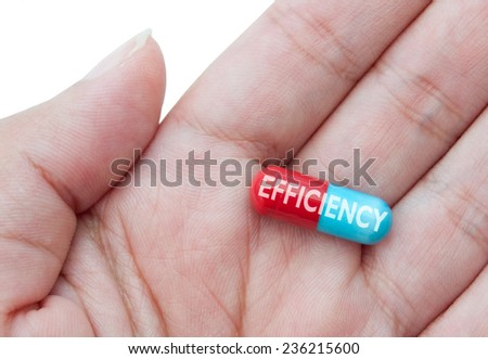 Efficiency pill concept