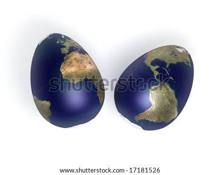 egg shaped earth