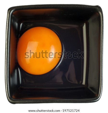 Egg yolk - stock photo