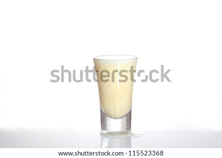 Eggnog - stock photo
