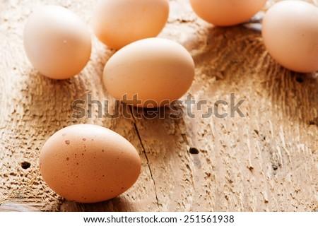 Eggs - stock photo