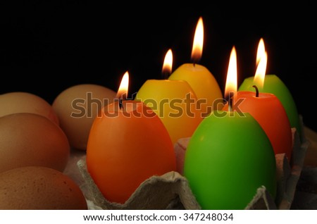 eggs candle