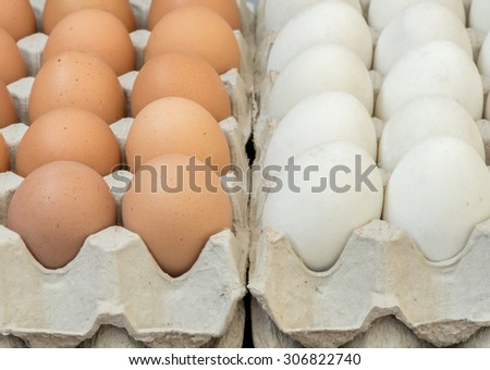 Eggs, Chicken Egg - stock photo