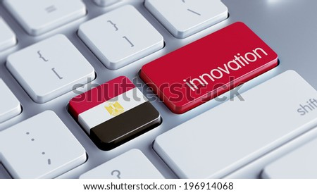 Egypt High Resolution Innovation Concept - stock photo