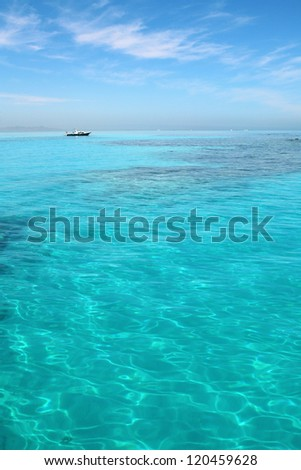 Egypt Hurghada Red Sea, yacht - stock photo