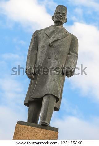 Egypt's Nationalist Leader Saad Zaghloul Pasha Statue - stock photo