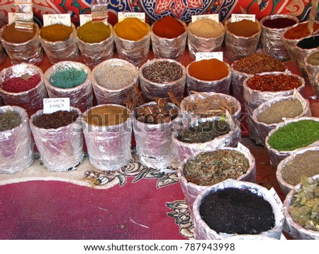 Egypt spices flavouring
