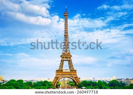 Eiffel Tower - stock photo